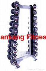 fitness,body building,Upright HAMMER STRENGTH Dumbbell Rack ( HR-001)