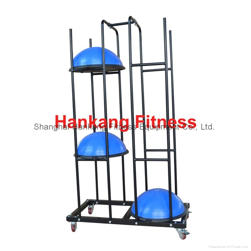 Fitness Body Building Fitness Equipment Balance Ball Bosu