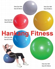 gym equipment,fitness,body building,Gym Ball(Swiss Ball)(HG-001)