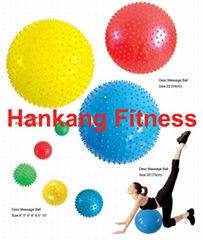 fitness equipment,body building,hammerstrength,Massager Ball(Swiss Ball)(HG-002)