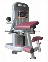 fitness equipment,gym and gym equipment,hammer strength,Biceps Machine(HP-3004)