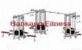 fitness,hammer strength, Multi-Jungle (
