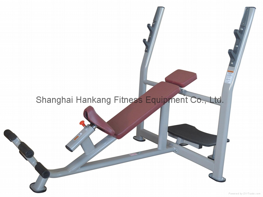 fitness,body-building,hummber strength,Olympic Incline Bench(HP-3049)