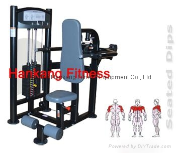 protraining equipme.fitness.hammer strength.DIP PRESS -PT-806