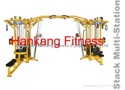 protraining equipme.fitness.hammer strength.8 Stack Multi Station-PT-833