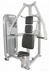 gym and gym equipment,hammer strength,body building,Chest Press(HP-3001)