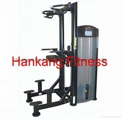 fitness ,fitness equipment,gym machine,Assist Dip Chin-PT-910