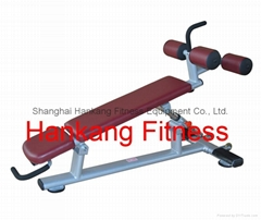 fitness.sports machine.gym machine.Adjustable Decline/Abdominal Bench-PT-938