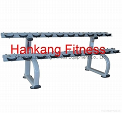 fitness.sports  machine.gym machine.Two Tier Dumbbell Rack-PT-952