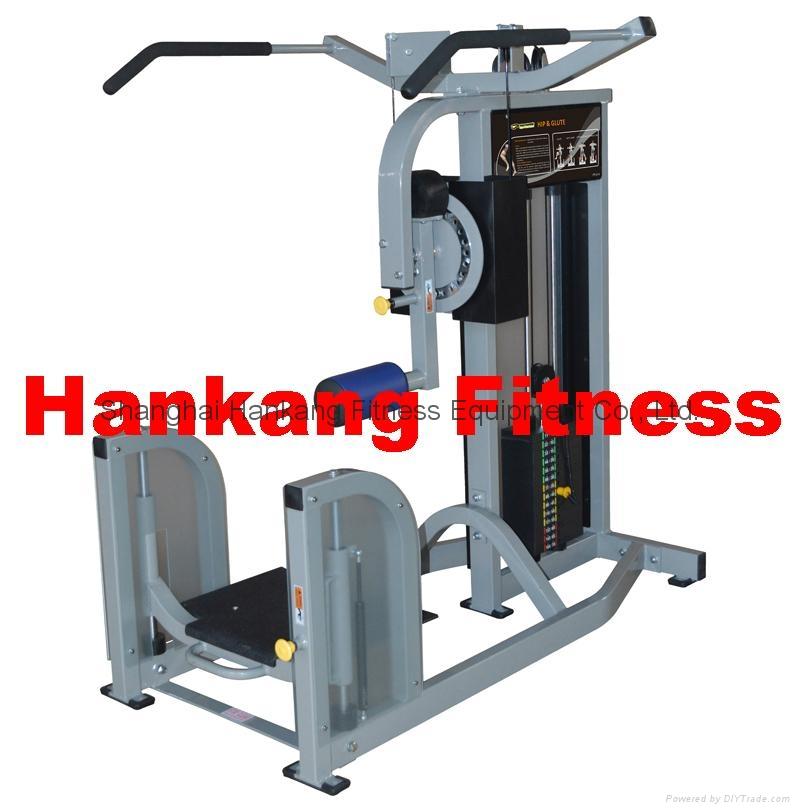 Gym equipment fitness body building hammer strength hip