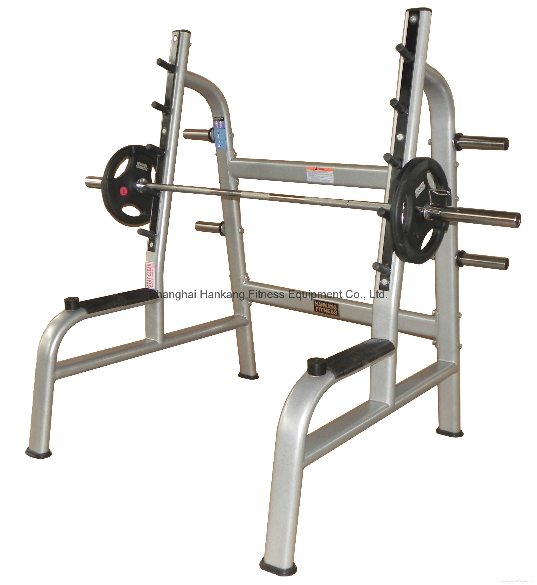 Fitness Equipment Home Gym Body Building Power Squat Rack Hk 1037 Hankang Fitness China Manufacturer Body Building Sport Products