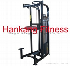 gym equipment,fitness,body building,hammer strength,Assist Dip Chin (PT-510)