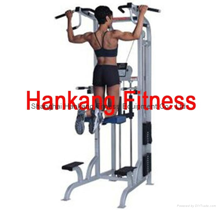 gym equipment,fitness,body building,hammer strength,ASSISTED CHIN - DIP( PT-413)