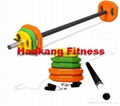 hammer strength weight plate, Body Pump Bar With Plates Set HW-007