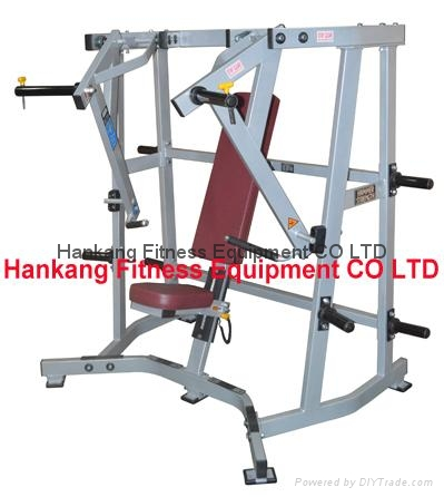 Hammer strength home gym body building iso lateral wide chest hs