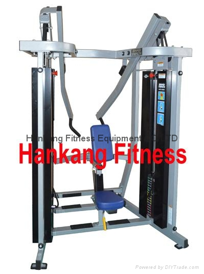 Hammer strength.fitness equipment home gym iso lateral row mts 8008