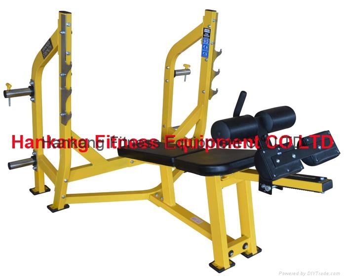 Hammer Strength,home gym,body-building,Olympic Decline Bench,HS-4011