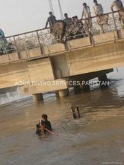 River Canal Diving Job Pakistan