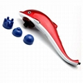 High Standard Multifunction Convenient Dolphin Infrared Handheld Massager LC-889
