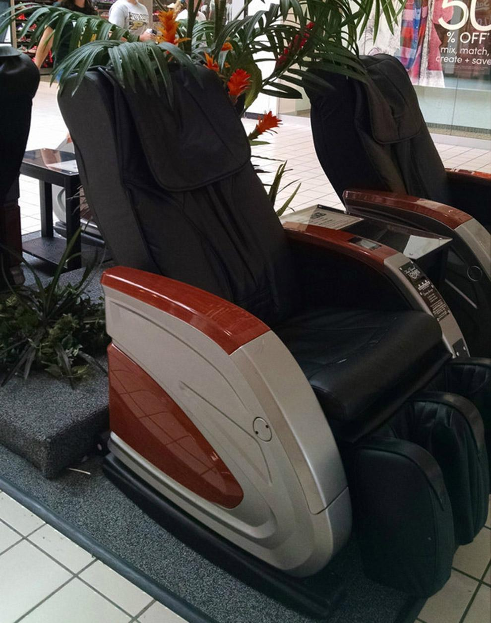 Shopping Mall Bill Operated Massage Chair RT-M02 5