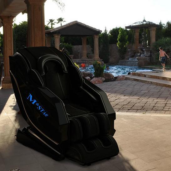 M-star Reclining Long SL Track Foot Luxury Massage Chair Price 2