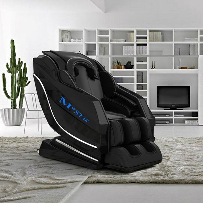 M-star Reclining Long SL Track Foot Luxury Massage Chair Price 4