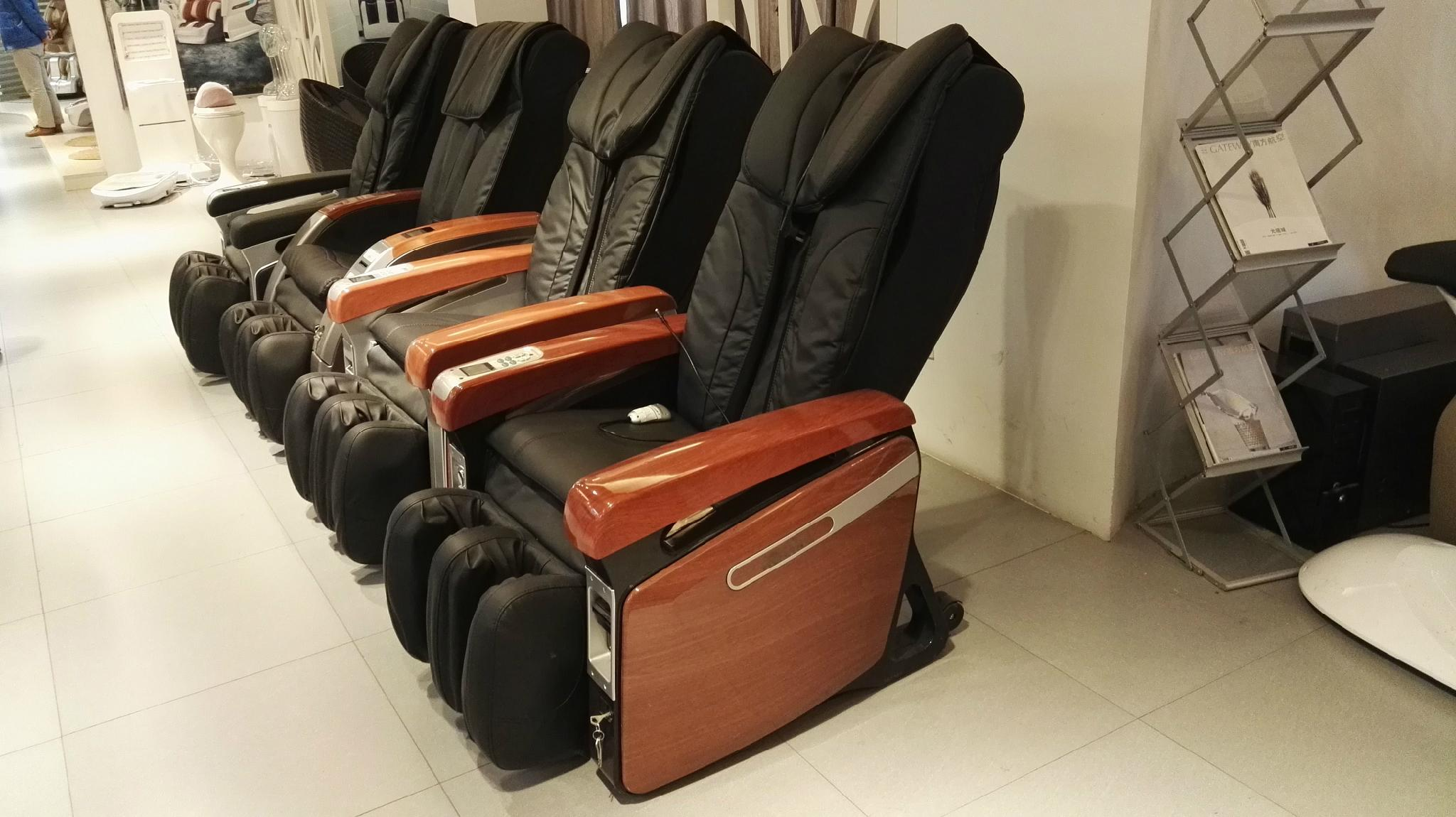 Best Selling Airport Bill Operated Vending Recliner Massage Chair  3