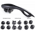 Portable ABS Electric Handhled Massager