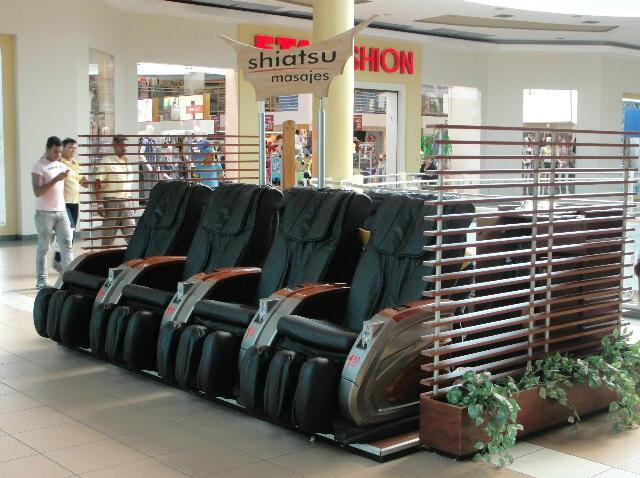 Popular Commercial Automatic coin-operated massage chairs RT-M01 6