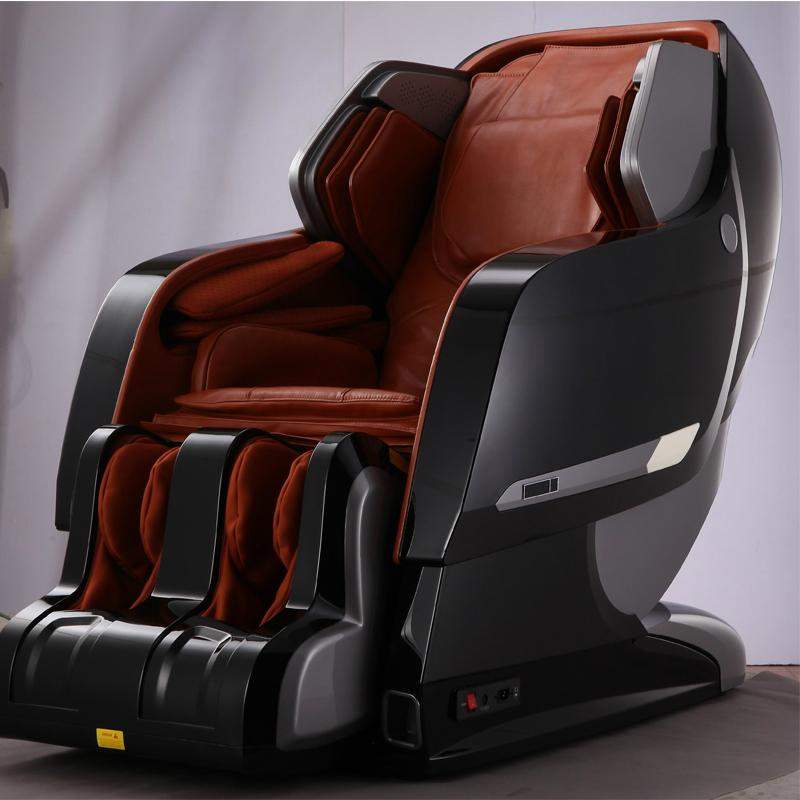 Luxury Full Body 3D Zero Gravity Leather Massage Chair  5