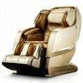 Luxury Full Body 3D Zero Gravity Leather Massage Chair  3