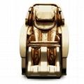 Luxury Full Body 3D Zero Gravity Leather Massage Chair  6