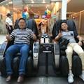 Modern Public Remote Control Vending massage chair 9