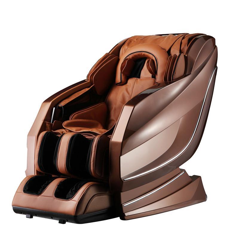 RT-A10 Luxury Ergonomic Sofa Leather 3D Body Stretch Massage Chair 1