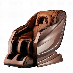RT-A10 Luxury Ergonomic Sofa Leather 3D Body Stretch Massage Chair