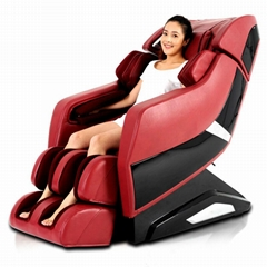 Human Touch L Shape Recliner Massage Chair Air Pump