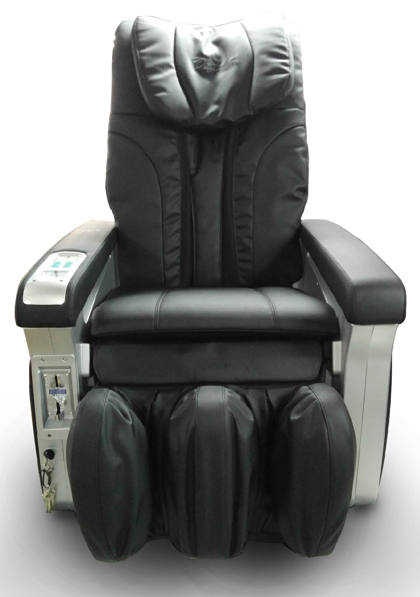 RT-M05 Money operated massage chair With Credit Card System 8