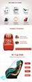 Unique design Comfortable kids massage chair price 4