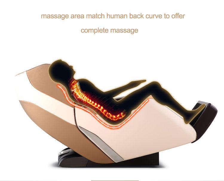 Intelligent Full Body Music Display Electric Massage Chair  11