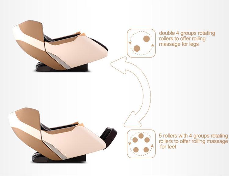 Intelligent Full Body Music Display Electric Massage Chair  13