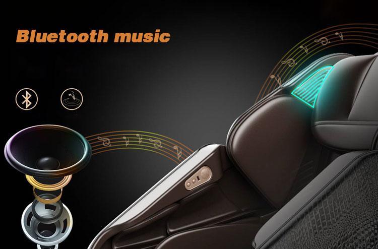 SL Shape track Wireless Music Massage Chair Full Body  15