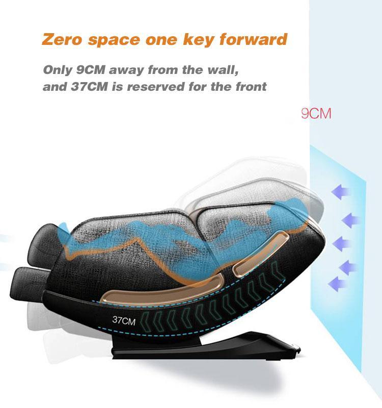 SL Shape track Wireless Music Massage Chair Full Body  17