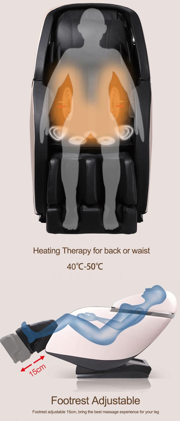 Luxury SL Track Kneading Ball Massage Chair Price  10