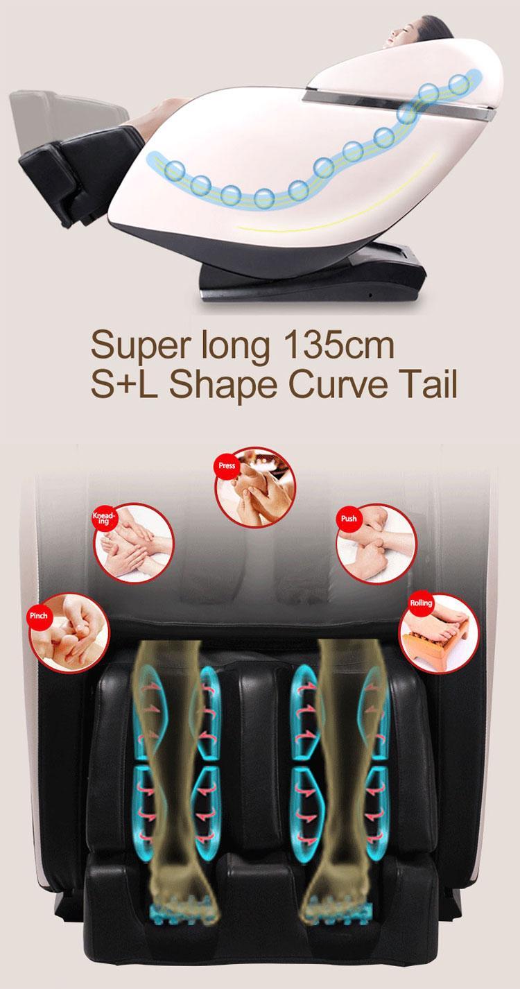 Luxury SL Track Kneading Ball Massage Chair Price  13