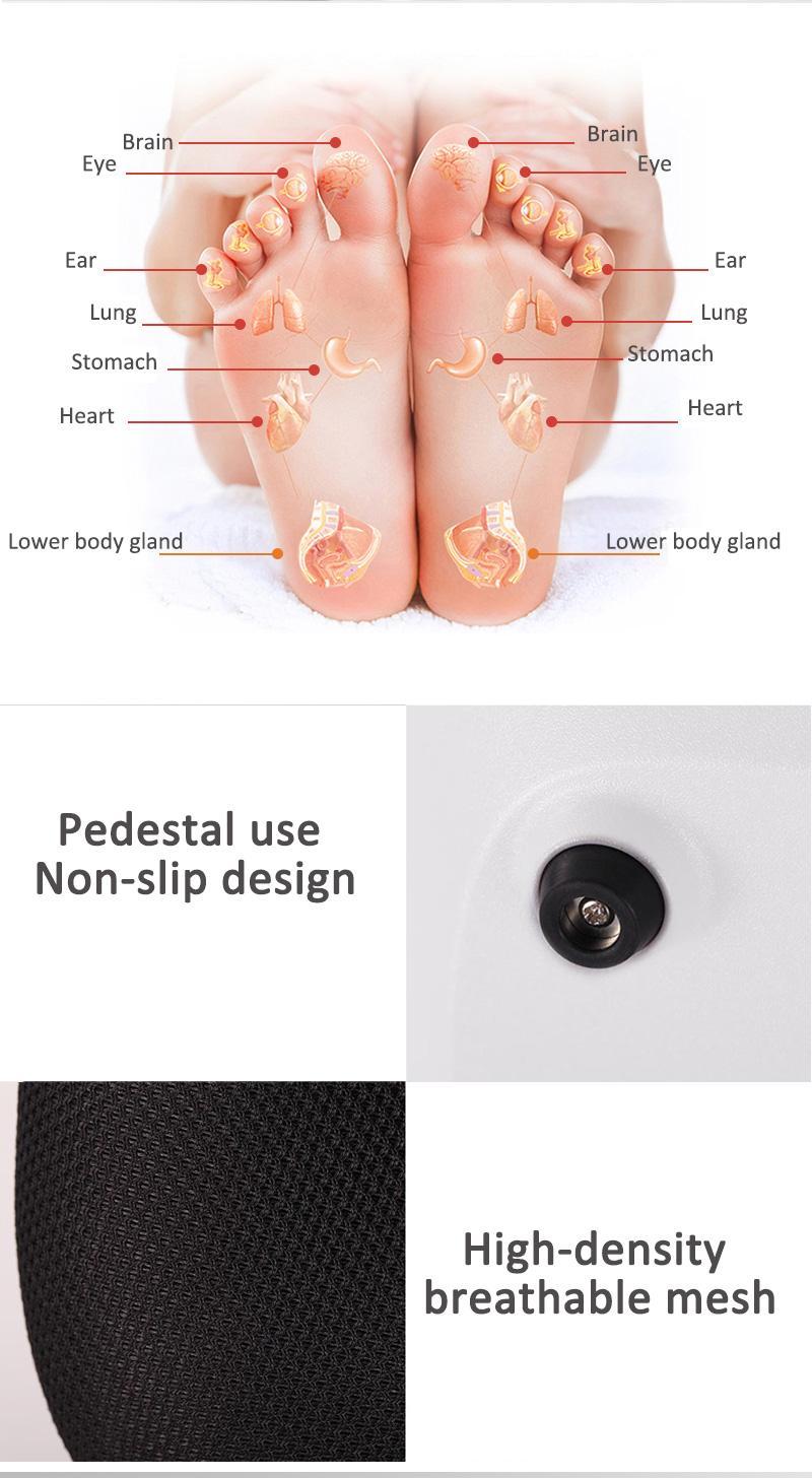 electric far infrared kneading Air foot leg warmer massager  8