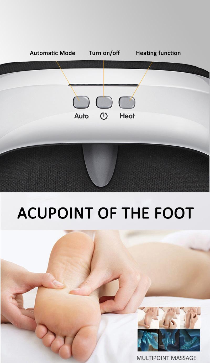 electric far infrared kneading Air foot leg warmer massager  9