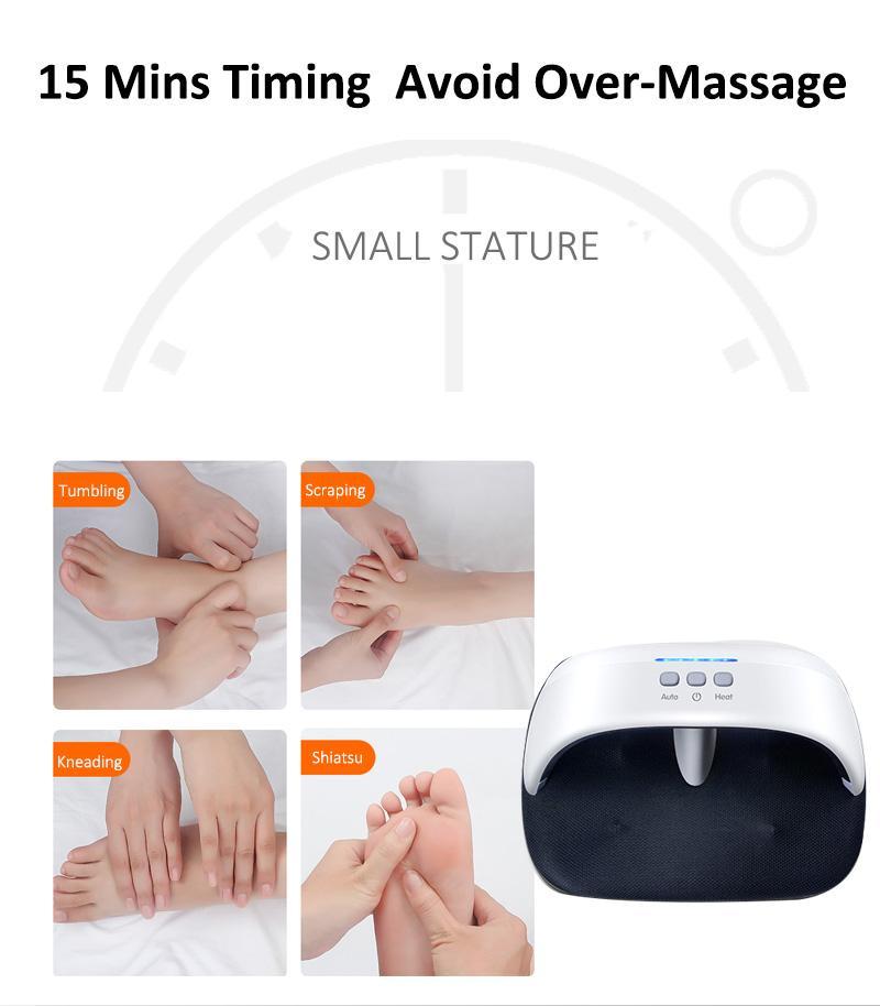 electric far infrared kneading Air foot leg warmer massager  10