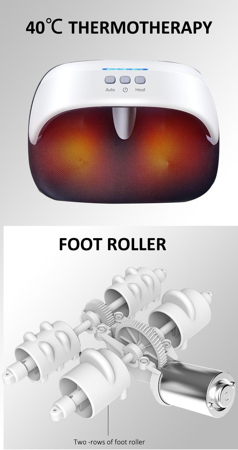 electric far infrared kneading Air foot leg warmer massager  11