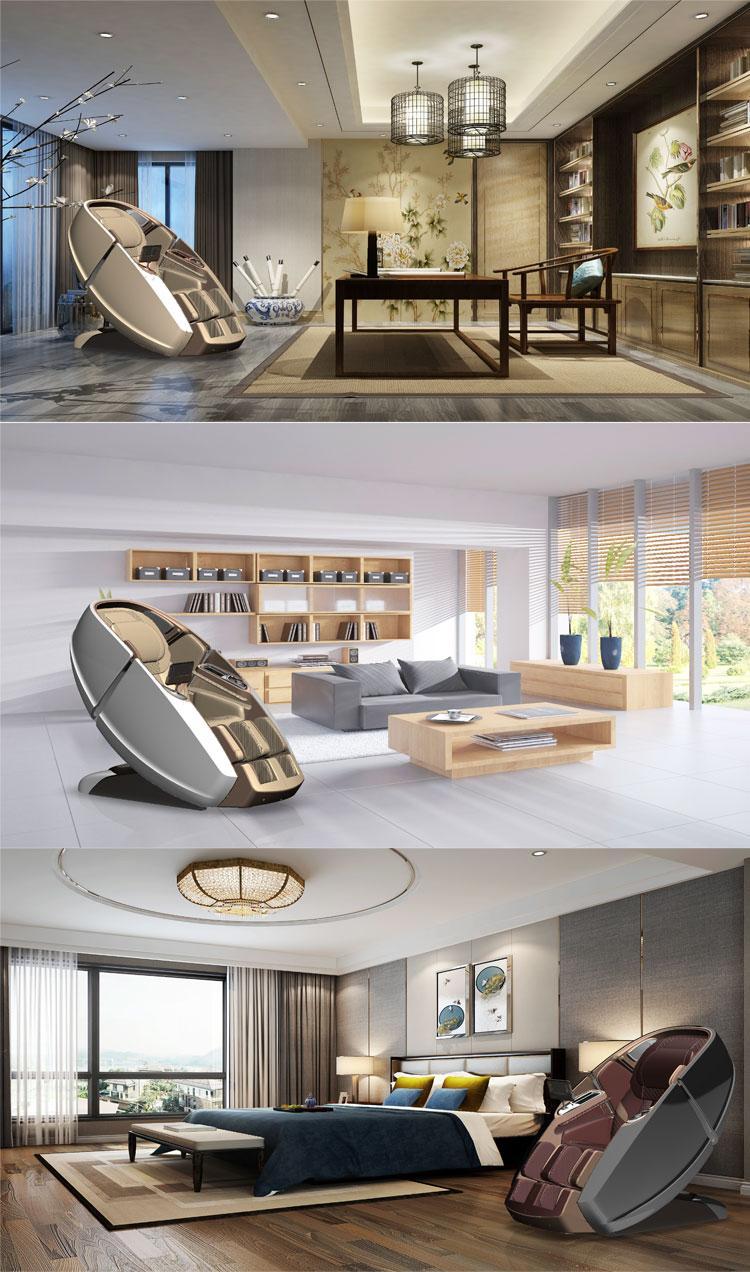 Healthcare Full Body Air Pressure 4D Massage Chair 10
