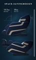 3D Zero Gravity Foot Thailand Massage Chair with Money  16